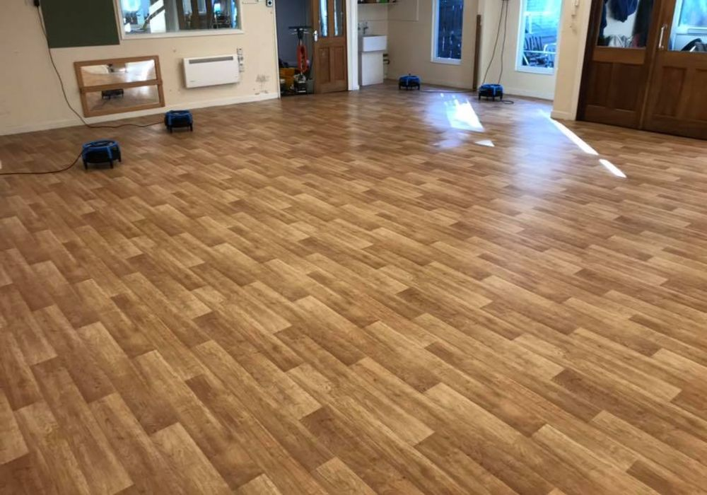 Karndean cleaning in Fleetwood, Lancashire